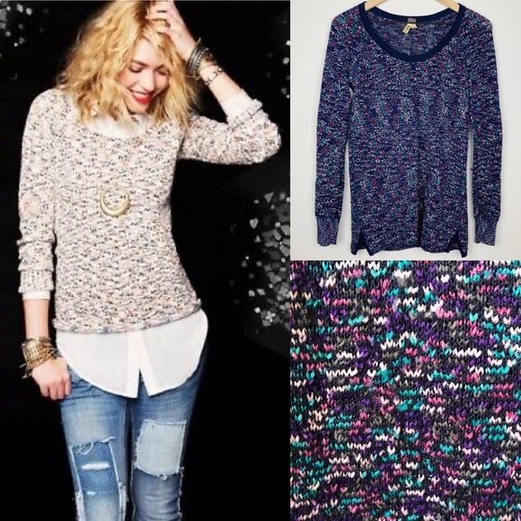 Free People - We The Free Marled Knit Sweater
